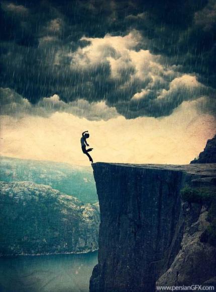 گاهی از احساس بزرگیمان شکست میخوریم