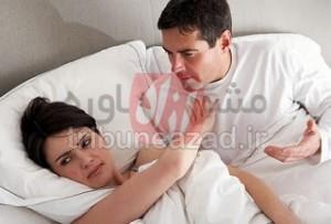 کم خونی علت سرد مزاجی در زنان