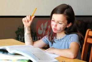 چالش نوشتن تکالیف مدرسه